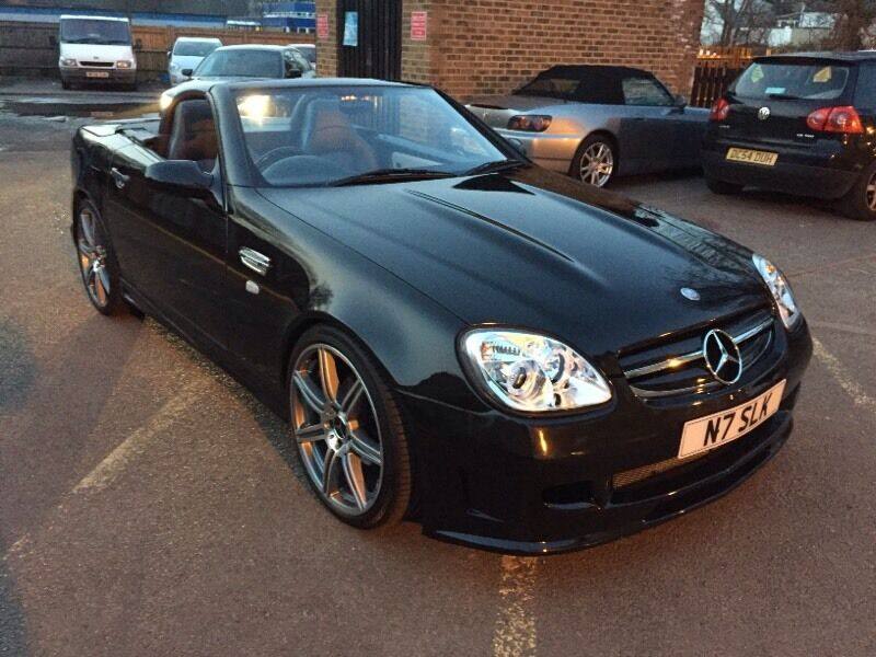 slk 230 kompressor unique car with body kit amg alloy wheels in mitcham london gumtree. Black Bedroom Furniture Sets. Home Design Ideas