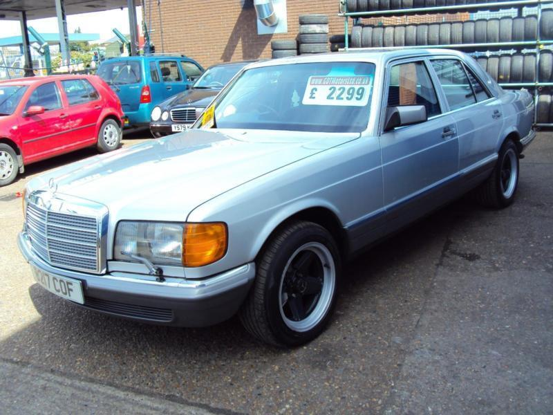 Mercedes-Benz 380SE W126 - 3839cc V8 Petrol - WITH PENTA ALLOY WHEELS