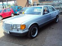 Mercedes-Benz 380SE W126 - 3839cc V8 Petrol - WITH PENTA ALLOY WHEELS