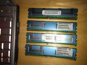 8GB DDR2 FULLY BUFFERED ECC RAM