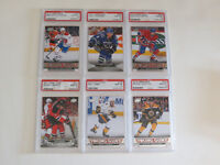 GRADED YOUNG GUN HOCKEY CARDS