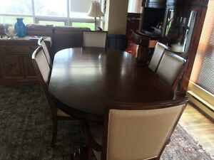 Furniture Sale - Dinning table/hutch chairs. Art shoppe