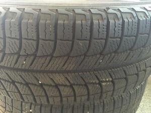 Four Michelin X-Ice Winter Tires with Rims for Toyota Prius Edmonton Edmonton Area image 5
