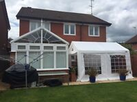 4x3 Gala Marquee * Ideal for Christmas parties *