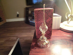 NOW $15.00 HAND BLOWN EGYPTIAN PERFUME BOTTLE