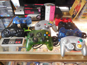 Controllers For PS3, PS2, PS1, XBOX 360, Wii, N64, GameCube Etc