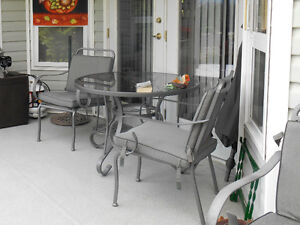 Table & Chairs - out door patio