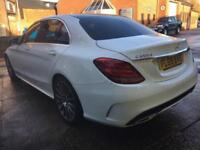 2015 65 MERCEDES C250d AMG LINE PREMIUM GOOD AND BAD CREDIT CAR FINANCE AVAILABL
