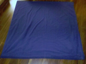 Large Navy Blue Fleece Blanket-Smoke/Pet/Bug Free Home