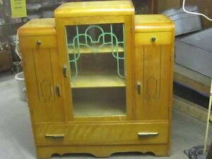 1930s ART DECO STYLE BUFFET KITCHEN CABINET $200 HOME DECOR