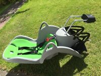 Child seat attachment for bike