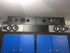 Tower Speakers JBL and Dahlquist - great garage speakers
