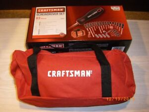 CRAFTSMAN SCREW DRIVER SET