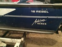 Lund Rebel 1600 Fishing Boat