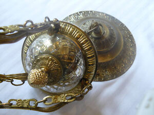 Vintage Reproduction Solid Cast Brass Chandelier Regina Regina Area image 4