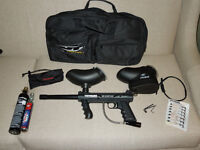 Paintball marker and accessories--ALMOST BRAND NEW!!