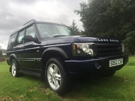 Land Rover discovery td5 px