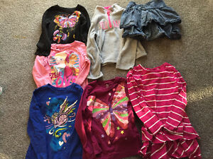 Girls long sleeve shirts size 5-6