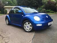2002 Volkswagen Beetle 2.0 BLUE,GREAT CONDITION