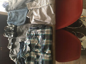 Mens clothes from smoke free home