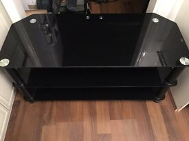Glass TV/console stand