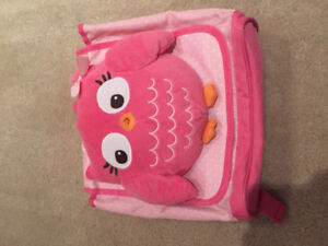 New Gymboree Pink Owl backpack