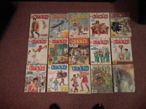 Cracked Magazines for sale any 10 for $30.00