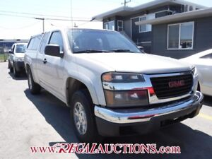 2008 GMC CANYON  EXT CAB 2WD