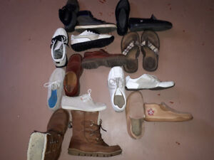 Men's shoes all used but in good shape.