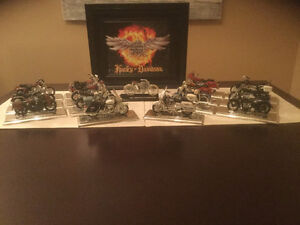 1/18 scale Harley Davidson collector toy motorcycles