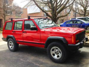 1997 JEEP CHEROKEE 4x4 from California