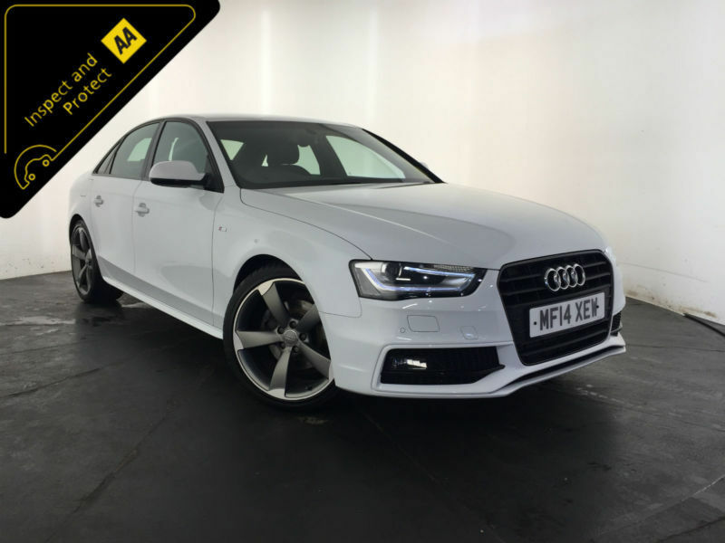 2014 audi a4 s line black edition tdi diesel automatic finance px welcome in stoke on trent. Black Bedroom Furniture Sets. Home Design Ideas