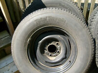 GM Truck tires & rims 1/2 ton