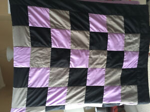 Homemade Quilt and pillow covers
