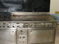 QUEST COMMERCIAL GAS STOVE/GRILL/OVEN AND DOUGH MIXERS