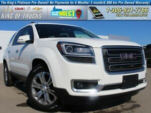2015 GMC Acadia SLT1 Leather | DVD | Low KM
