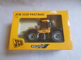 1/32 scale diecast tractor model Jcb 3220 Fastrac