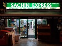 THE MARKET SACHIN EXPRESS OFF LICENCE SHOP IN HAMMERSMITH , REF: RB280
