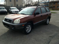 2002 HYUNDAI SANTA FE :tags: chrysler,chevy,saturn,03,04,05,6,07