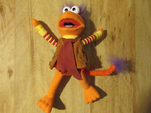 Jim Henson FRAGGLE ROCK Gobo Stuffed Plush Muppet Toy