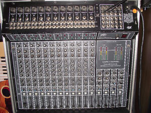 PA System (powered) 12 Channel with Speakers