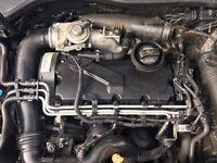 Volkswagen Golf mk5 TDI engine 1900 cc 2005 engine code BKC