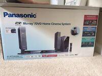 Panasonic blu-Ray DVD home cinema system