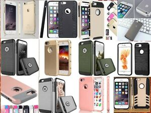 HYBRID SHOCKPROOF CASES COVERS - IPHONE 6/6S/6S+/7/7 PLUS