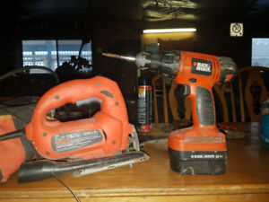 Drill  and Jigsaw for Sale