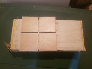 Ceramic Tiles 4 x 4 tiles (8 boxes +) of 100pcs/ea box