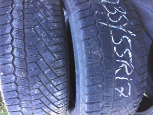 4x Hiver 235/55R17 103t Continental Extremewintercontact