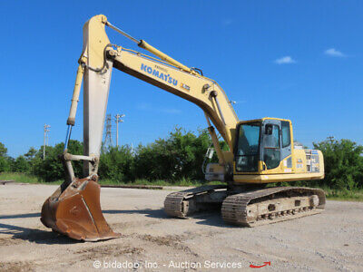 2008 Komatsu Pc200lc-8 Hydraulic Excavator Tractor Ac Cab Diesel Bidadoo