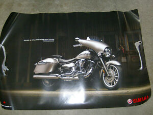 YAMAHA STRATOLINER DELUXE PROMOTIONAL POSTER