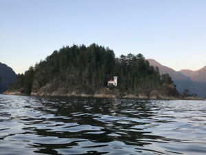 Private island and fishing cabin rental on Vancouver Island